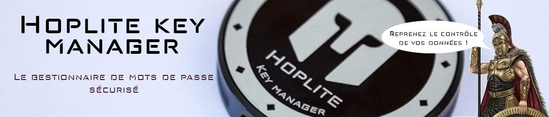 Hoplite Key Manager - Le gestionnaire de mots de passe sécurisé